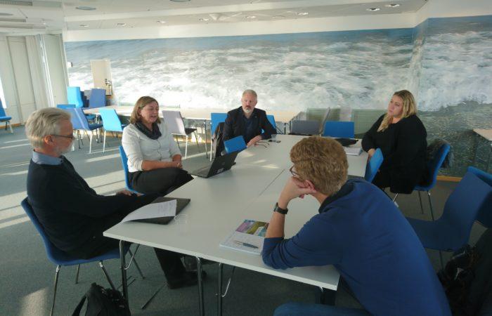 Samverkansmöte mellan parasport Sverige och Högskolan i Halmstad runt anpassad fysisk aktivietet (AFA)